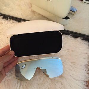 Le specs blue lense sunglasses